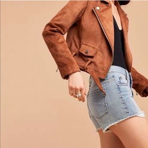 aritzia cut off shorts